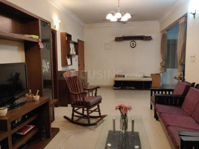 Gallery Cover Image of 1850 Sq.ft 3 BHK Apartment for rent in Evershine Tropical Zone Apartments, Indira Nagar for 50000