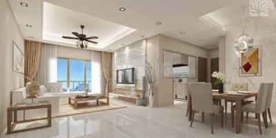 Gallery Cover Image of 646 Sq.ft 2 BHK Apartment for buy in Siddha Seabrook Apartment, Kandivali West for 11000000