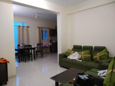 Gallery Cover Image of 1200 Sq.ft 2 BHK Apartment for rent in Domlur Layout for 41000