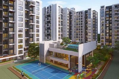 Gallery Cover Image of 1062 Sq.ft 2 BHK Apartment for buy in Metro Life Maxima Residences, Tathawade for 7181550