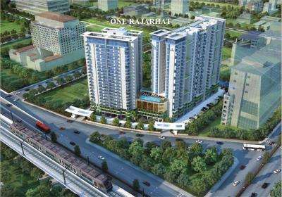 Gallery Cover Image of 1887 Sq.ft 3 BHK Apartment for buy in One Rajarhat, New Town for 15300000