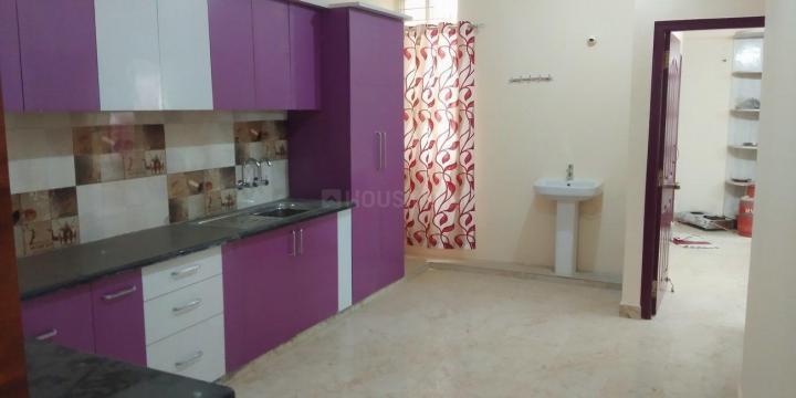 Kitchen Image of 1900 Sq.ft 3 BHK Apartment for rent in Om Arine Amaryllis, Devarachikkana Halli for 30000
