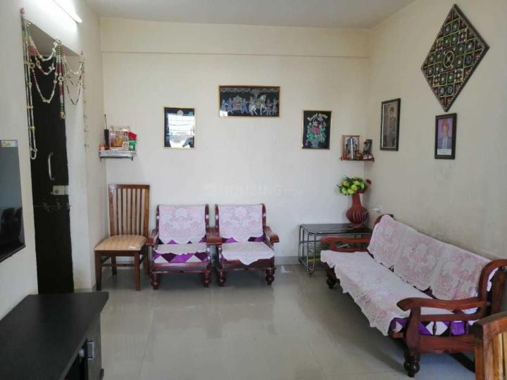 Living Room Image of 1000 Sq.ft 2 BHK Apartment for rent in Hadapsar for 15000