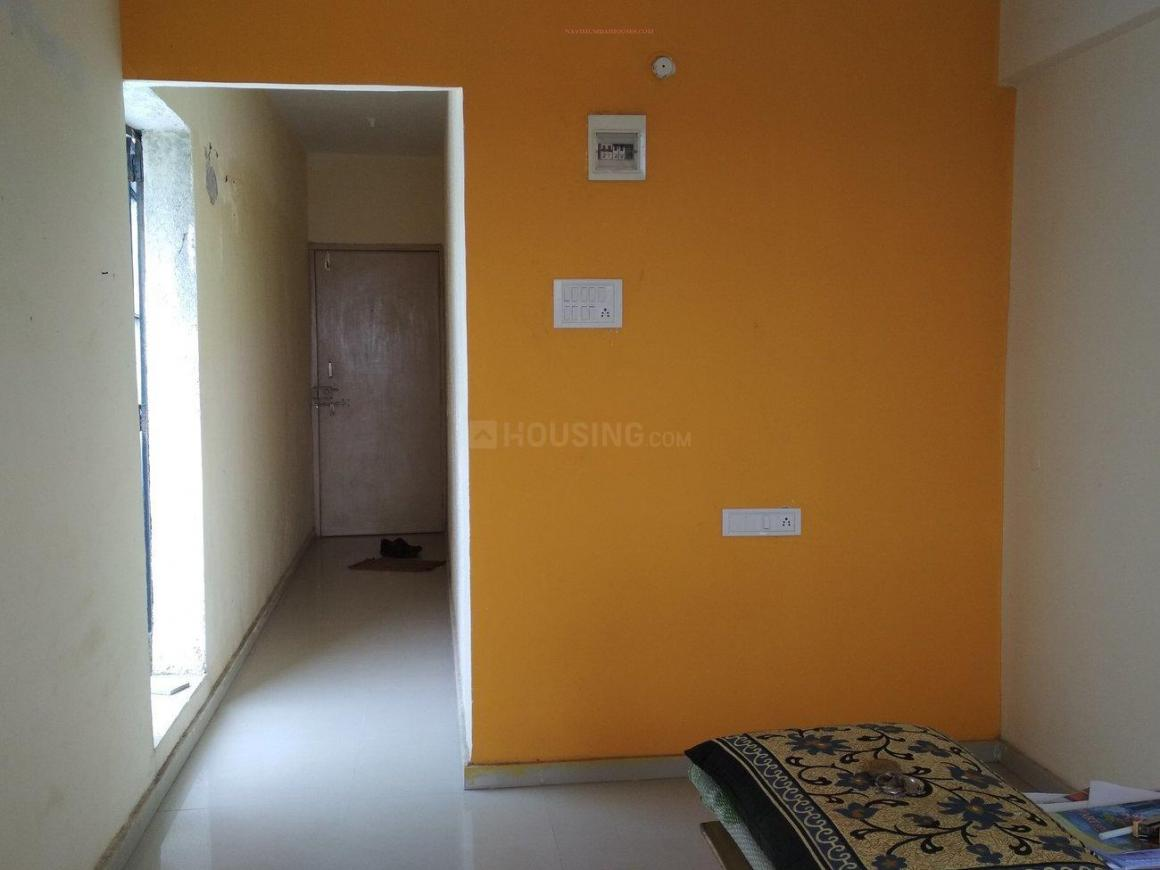 Living Room Image of 600 Sq.ft 1 BHK Apartment for rent in Ghansoli for 12000