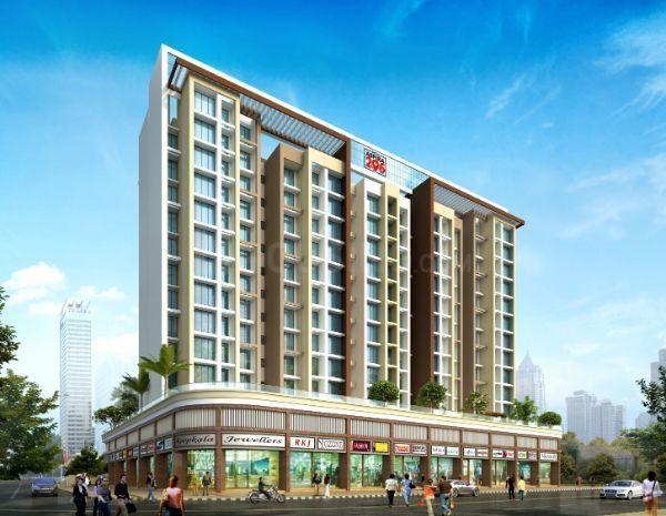 Building Image of 665 Sq.ft 1 BHK Apartment for buy in New Panvel East for 6000000