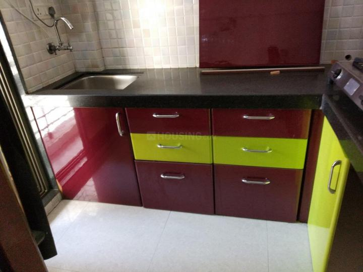 Kitchen Image of 1100 Sq.ft 2 BHK Apartment for rent in Rabale for 32000