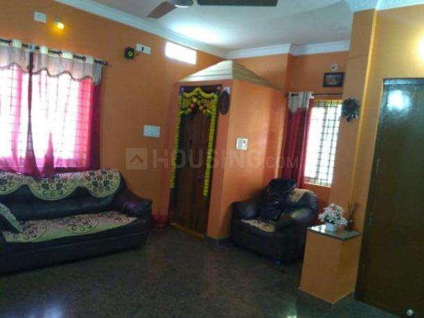 Living Room Image of 600 Sq.ft 2 BHK Independent Floor for rent in Kamala Nagar for 13999