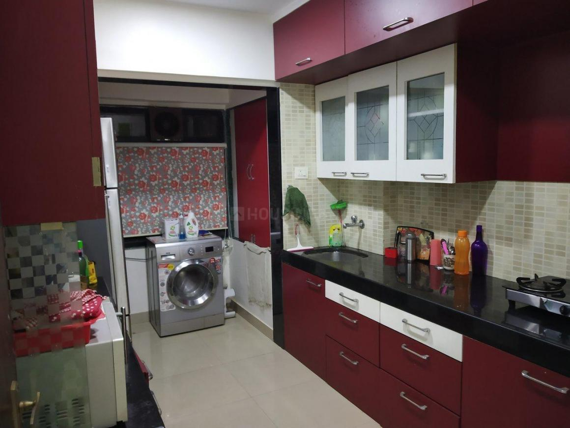 Kitchen Image of 580 Sq.ft 1 BHK Apartment for rent in Powai for 35000