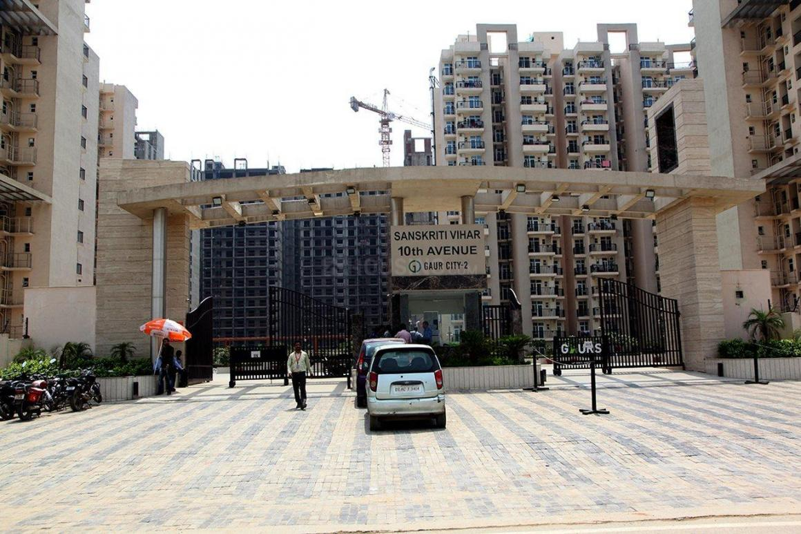 Building Image of 555 Sq.ft 1 RK Apartment for buy in Noida Extension for 2555000