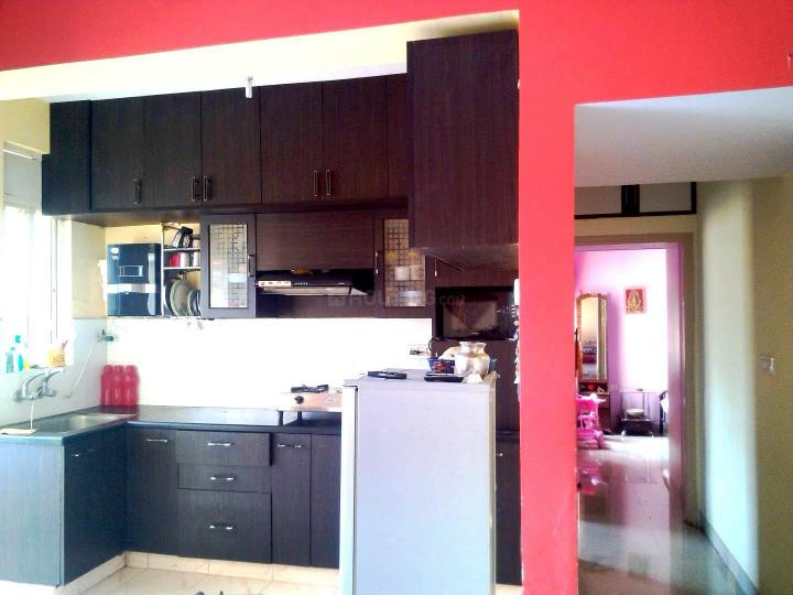 Kitchen Image of 1006 Sq.ft 2 BHK Apartment for rent in Lake Vihar II, Battarahalli for 17000