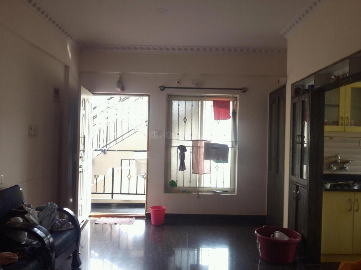 Living Room Image of 950 Sq.ft 2 BHK Apartment for rent in Chikkalasandra for 13000