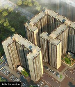 Gallery Cover Image of 540 Sq.ft 1 BHK Apartment for buy in Conceptual Suraksha Smart City Phase I, Vasai East for 2200000