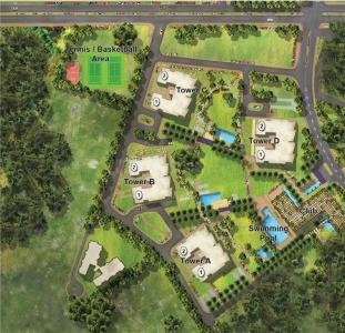 Gallery Cover Image of 4279 Sq.ft 4 BHK Apartment for rent in Pioneer Araya, Sector 62 for 100000