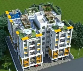 Gallery Cover Image of 819 Sq.ft 2 BHK Apartment for buy in Kaikhali for 3112000
