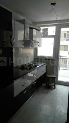 Kitchen Image of 1750 Sq.ft 4 BHK Apartment for rent in Sector 19 Dwarka for 32000