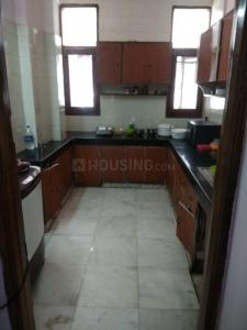 Kitchen Image of Durga PG in Kamla Nagar