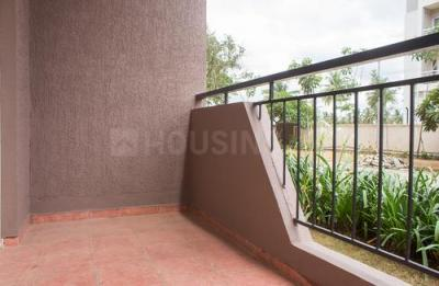 Balcony Image of 3 Bhk In Dsr Green Fields in Whitefield