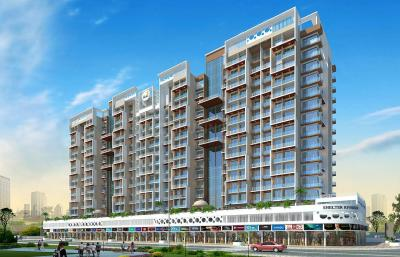 Gallery Cover Image of 1100 Sq.ft 2 BHK Apartment for rent in Shelter Riverside, Taloja for 14000