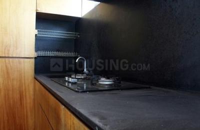 Kitchen Image of Gayathri Nest in Habsiguda