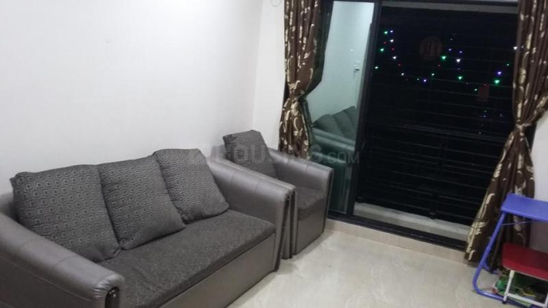 Living Room Image of 900 Sq.ft 2 BHK Apartment for rent in Mira Road East for 16000