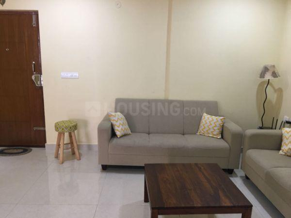 Living Room Image of 1950 Sq.ft 3 BHK Apartment for rent in Harlur for 50000