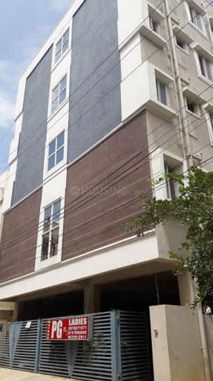 इलेक्ट्रॉनिक सिटी में मठरू पीजी फॉर लेडिज के बिल्डिंग की तस्वीर