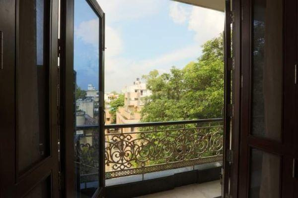 Balcony Image of Co Living Shared 3 Bhk in Defence Colony