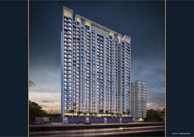 Gallery Cover Image of 854 Sq.ft 2 BHK Apartment for buy in Squarefeet Mahavir Square, Thane West for 9900000