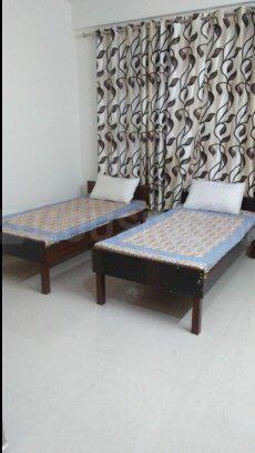 सेक्टर 23 में पीजी 23 सेक्टर 23 के बेडरूम की तस्वीर