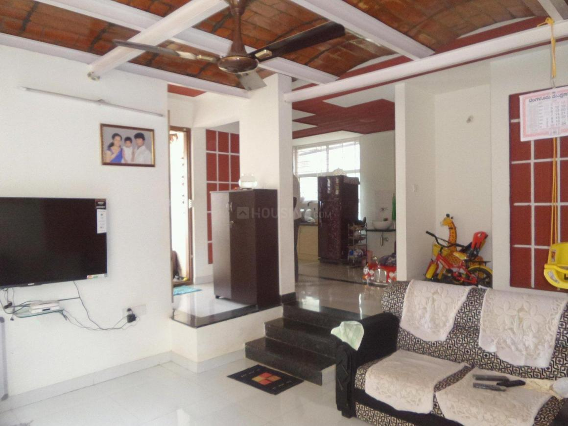 Living Room Image of 1100 Sq.ft 2 BHK Independent Floor for rent in Amrutahalli for 15000
