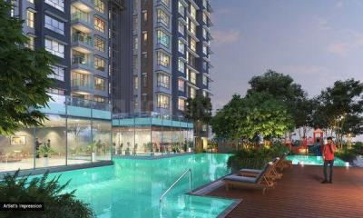 Gallery Cover Image of 1200 Sq.ft 3 BHK Apartment for buy in Wadhwa TW Gardens, Kandivali East for 31100000