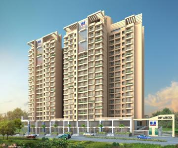Gallery Cover Image of 1015 Sq.ft 3 BHK Apartment for buy in Thane West for 13700000