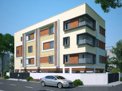 Gallery Cover Image of 1260 Sq.ft 3 BHK Apartment for buy in Perambur for 10800000