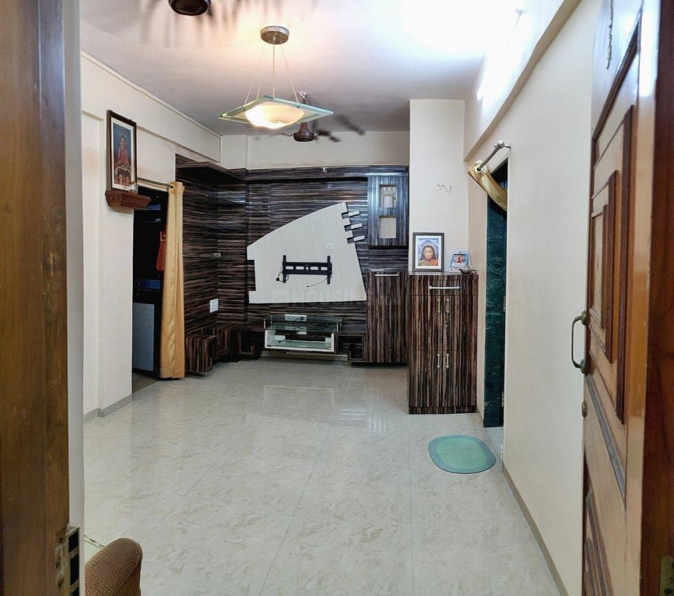 Living Room Image of 640 Sq.ft 1 BHK Apartment for rent in Dombivli East for 15000