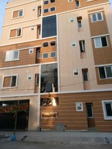 अग्रहरा लेआउट में श्री साई रेसिडेंसी पीजी में बिल्डिंग की तस्वीर