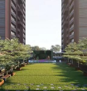 Garden Area Image of 1584 Sq.ft 3 BHK Apartment for buy in Suryam Ananta, Vastral for 4576000