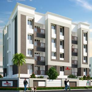 Gallery Cover Image of 1463 Sq.ft 3 BHK Apartment for buy in Padi for 18500000