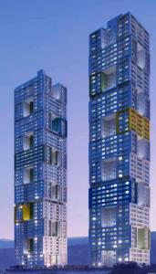 Gallery Cover Image of 1155 Sq.ft 3 BHK Apartment for buy in Adhiraj Capital City, Kharghar for 11100000