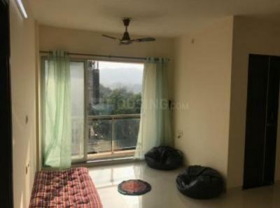 Gallery Cover Image of 710 Sq.ft 1 BHK Apartment for rent in Kasarvadavali, Thane West for 14000