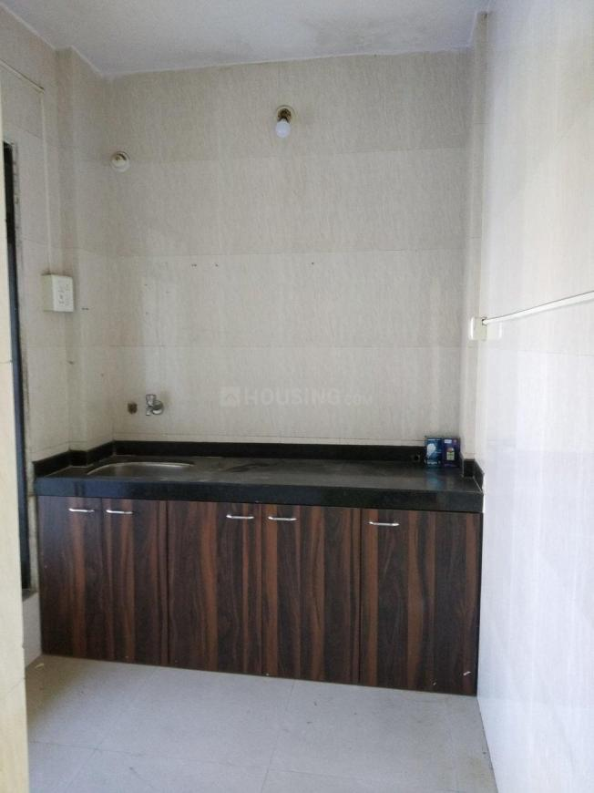 Kitchen Image of 400 Sq.ft 1 RK Apartment for rent in Airoli for 9000