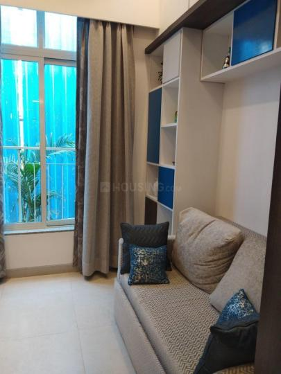 Living Room Image of 407 Sq.ft 1 BHK Apartment for buy in Aarambh, Kandivali East for 4760000