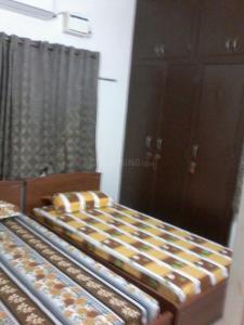 आमींजीकरई में प्रभाकरन पीजी अकॉमोडेशन के बेडरूम की तस्वीर