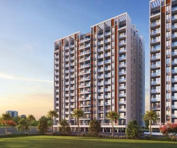 Gallery Cover Image of 1050 Sq.ft 2 BHK Apartment for buy in Majestique Towers Phase 3, Kharadi for 6200000