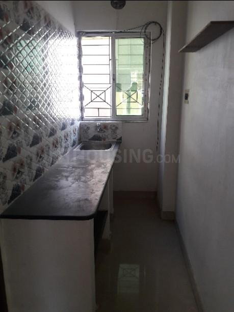 Kitchen Image of 500 Sq.ft 1 BHK Apartment for rent in Baghajatin for 6000