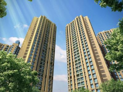 Gallery Cover Image of 383 Sq.ft 1 BHK Apartment for buy in Orovia Phase 1, Thane West for 6800000