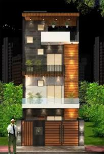 Gallery Cover Image of 1998 Sq.ft 3 BHK Independent Floor for buy in Surya Nagar for 16500000