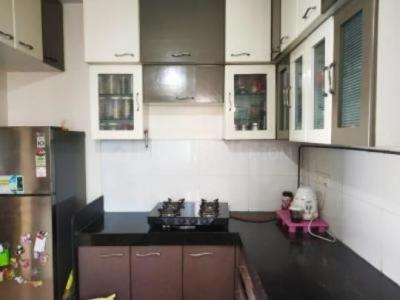 Kitchen Image of 2bhk Only For Girls Allow Rent-6.5k in Thane West