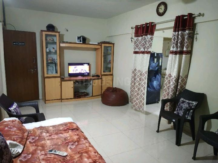 Living Room Image of 600 Sq.ft 1 BHK Apartment for rent in Karve Nagar for 12000