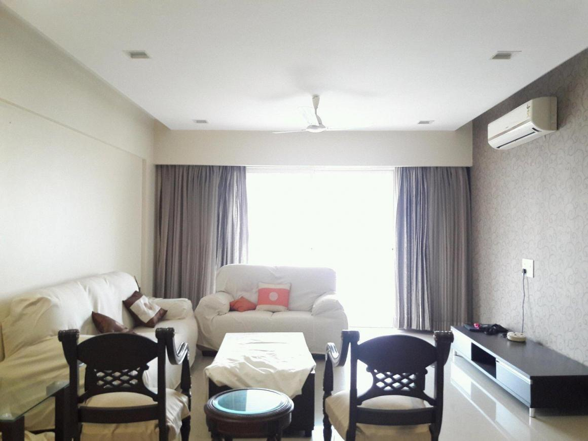 Living Room Image of 1675 Sq.ft 3 BHK Apartment for rent in Undri for 30000