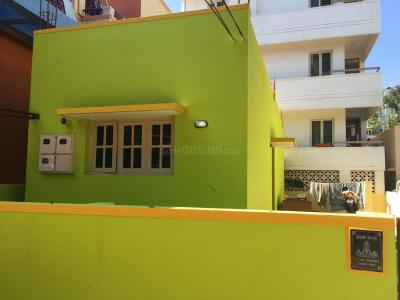 Gallery Cover Image of 1200 Sq.ft 1 BHK Independent House for rent in Hebbal Kempapura for 11500